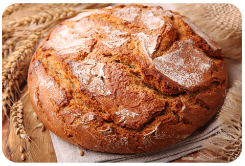 Oat Bread Wheat Flour for Special Purposes