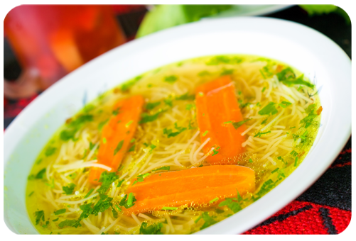 Chicken Broth Vermicelli Soup
